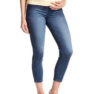 DL1961 Florence Cropped Maternity Skinny Jean EUC